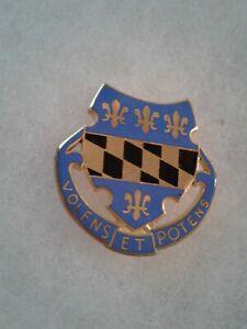 Authentic-US-Army-319th-Infantry-Regiment-Unit-DI-DUI-Crest-Insignia-B-23