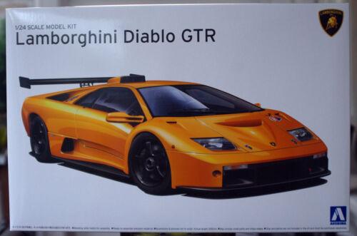 1:24 1999 Lamborghini Diablo GTR Aoshima 10693