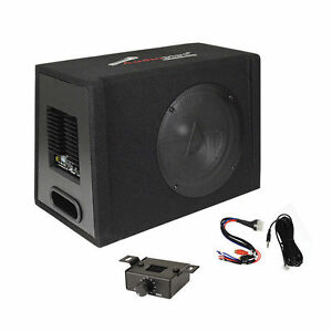 "JBL Gt-Basspro12 W//Lpl 12/"" 450W Powered Loaded Enclosed Car Bass Sub Woofer"