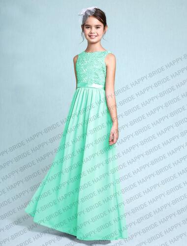 2019 Charming Princess Junior Girl Dresses Bridesmaid Dress Size 4+++14 years