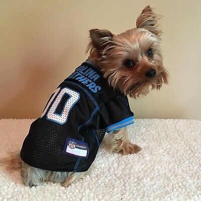 buy popular 16ad1 08da9 Carolina Panthers NFL Officially Licensed Pets First Dog Pet ...
