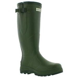 Image is loading Hunter-Original-Balmoral-Classic-Wellington-Mens-Green- Wellies-