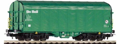 Piko ho 54588 schiebeplanenwagen shimmns on rail 4-achsig #neu en OVP