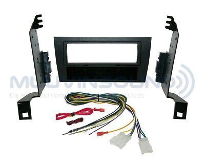 Amp Bypass Wire Harness LE36 Radio Stereo Installation Dash Kit Combo SD