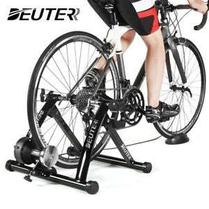 Indoor Exercise Magnetic Resistance Bicycle Trainer Bike Stand US Free Ship