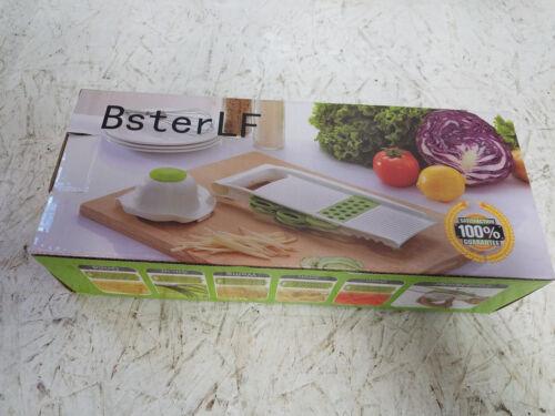 Vegetable Slicer Kitchen Mandoline Slicer Grater Set     NEW IN BOX  !!!
