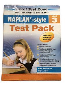 Excel Test Zone NAPLAN Style Test Pack Year 3 Alan Horsfield & Allyn Jones