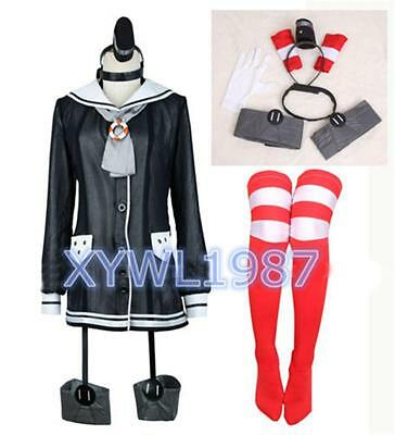 New Kantai Collection Fleet Girls Amatsukaze Beautiful Dress Set Cosplay Costume