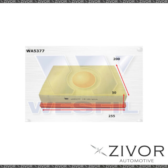 Wesfil Air Filter For Renault Alaskan 2.3L TD 05/15-on - WA5377 *By Zivor*