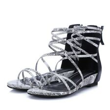 b097f8532afcc9 item 3 Women s Ankle Tie Back Zip Lace Up Open Toe Strappy Roman Gladiator Flat  Sandals -Women s Ankle Tie Back Zip Lace Up Open Toe Strappy Roman  Gladiator ...