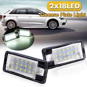 Targa LED La Luce Giorno 18-SMD Bianco Per Audi A8 A4 S4 B6 B7 A6