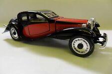 RIO 1:43 AUTO DIE CAST BUGATTI T50 1932 NERO E ROSSO BLACK AND RED  ART 48