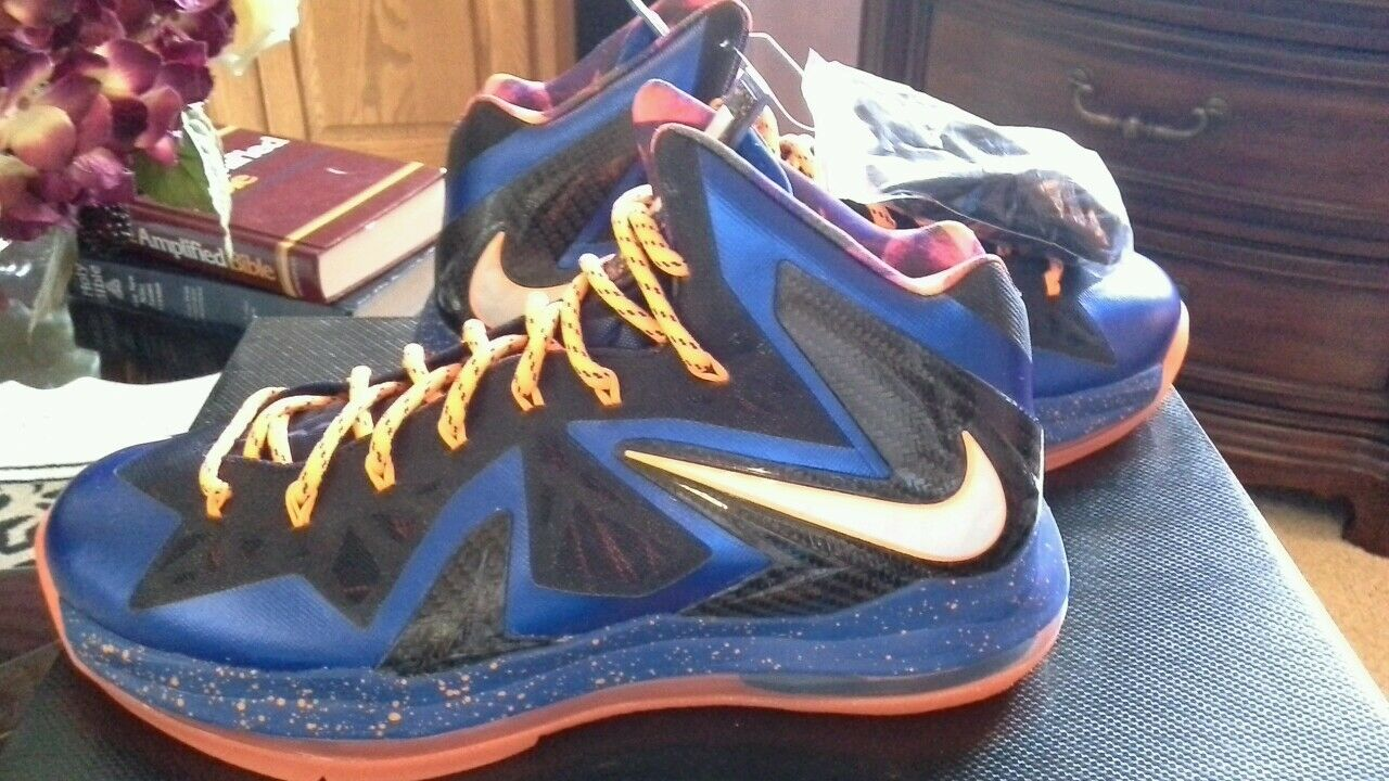 Nike LeBron X ELITE SERIES SUPER HERO NWDS 2018