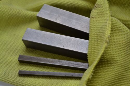 Chiave in acciaio inox quadrato sede per chiavetta barra 600mm 3mm 3 mm X1 bs4235 316