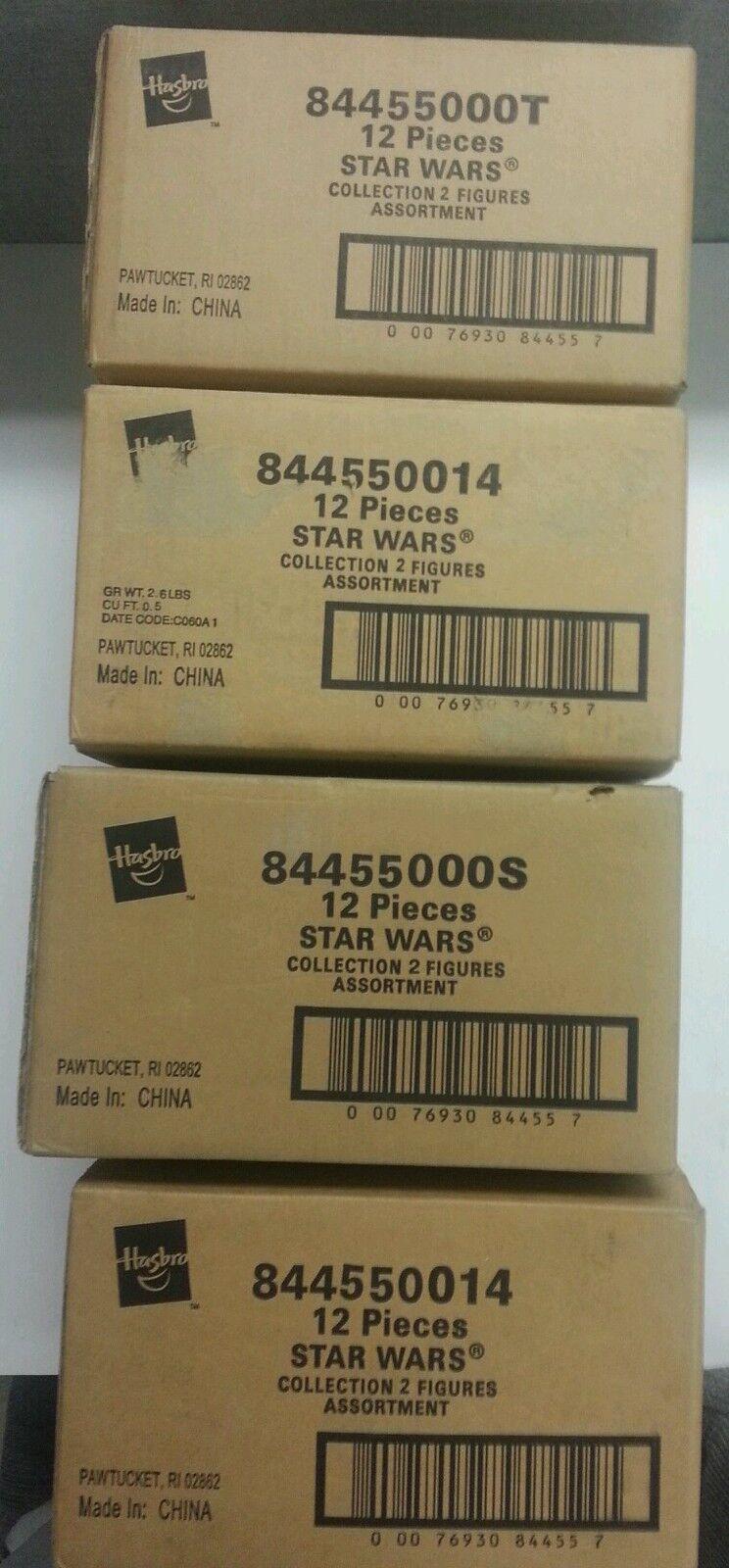 Star Wars POTJ Collection 2 12 figure asst. Sealed Case MOC AFA Ready
