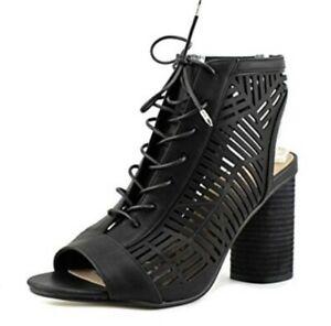 ca2e0e579 Sam Edelman Rocco Block Heels Size 9 NEW in Box Peep Toe Booties