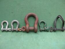 Clevis Shackle Assortment Lot Of 5
