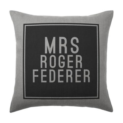 Roger federer coussin pillow cover case-cadeau