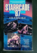 VV  VHS WCW Starcade 1987 Chi town Heat   Dusty Rhodes   **BONUS**