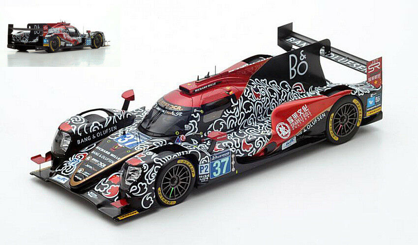 Oreca 07 37 4th Lm 2018 Cheng / Gommendy / Brandle  Model SPARK MODEL