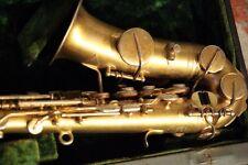 1922 Buescher Tru-tone Gold-plated Curved Soprano Saxophone