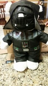 Star-Wars-Darth-Vader-Build-A-Bear-Teddy-Bear-Plush-18-034-Stuffed-Animal-Rare-Ite