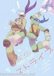CHEW ME Andromeda Teenage Mutant Ninja Turtles doujinshi Leo X Dony B5 24pages