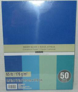 Recollections-Cartulina-Papel-8-1-5-1cm-x-27-9cm-50-Hojas-29-5kg-5-Color-Merry