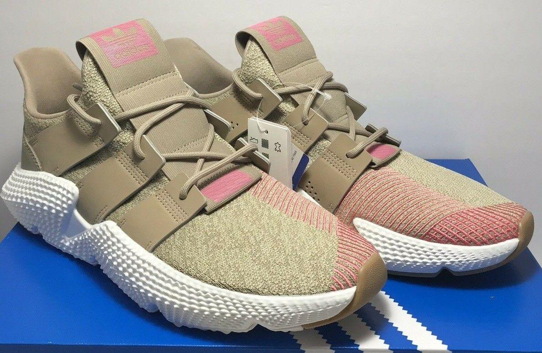 Adidas Mens Sz 8.5 Originals Prophere Lifestyle Athletic shoes CQ2128 Khaki Pink