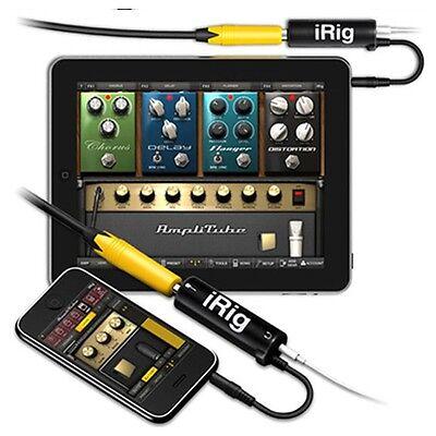 IK Multimedia AmpliTube iRig Guitar Interface Adaptor For IOS Device
