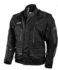 New 2019 Adult O/'Neal Baja Windproof Water Resistant Jacket S M L XL Black