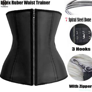 1e6f104b7783f Image is loading Women-Waist-Trainer-Cincher-Corset-Shapewear-Body-Shaper-