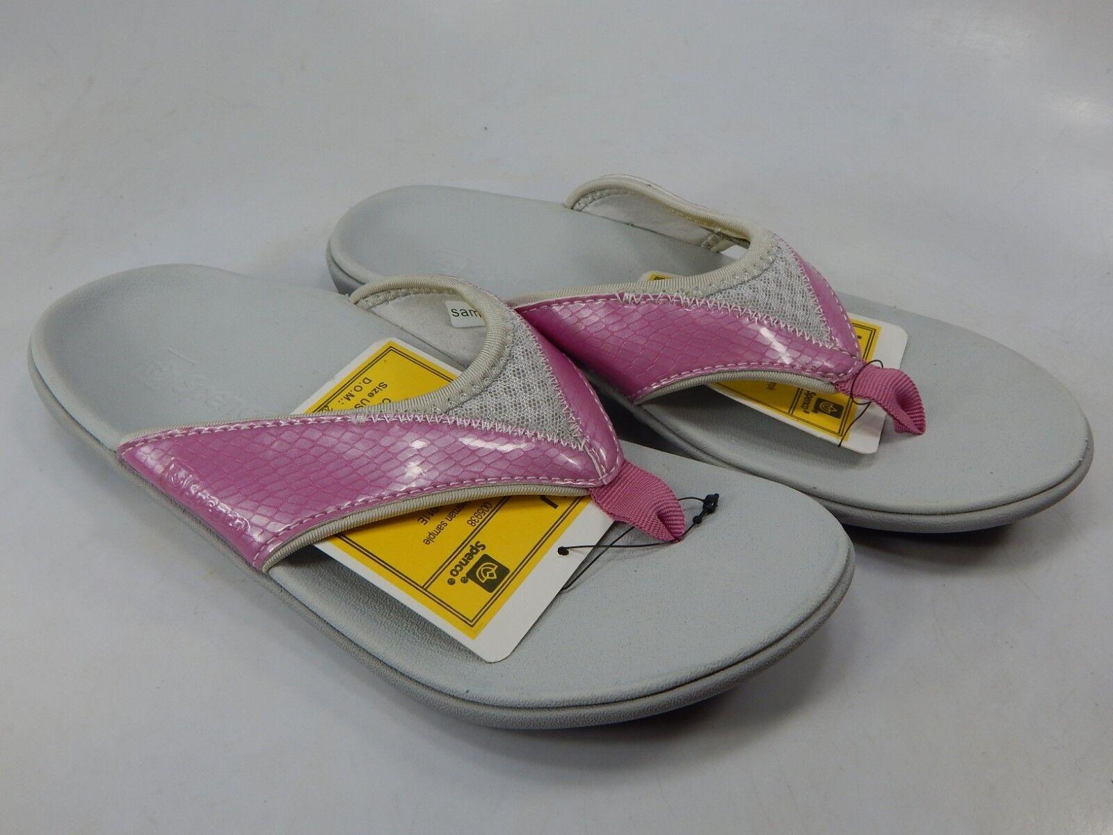 Spenco Sandi tamaño nos 7 M (B) EU 37.5 para para para mujer de recuperación Flip Flop Sandalias rosado  comprar descuentos