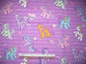 My-Little-Pony-cotton-quilting-fabric-Choose-design-amp-size