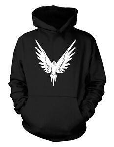 Maverick-Bird-Hoodie-or-T-Shirt-Adults-amp-Kids-YouTuber-Merch-WHITE-PRINT