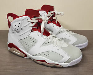 8508df399a82 Image is loading Air-Jordan-6-Retro-White-Gym-Red-Pure-