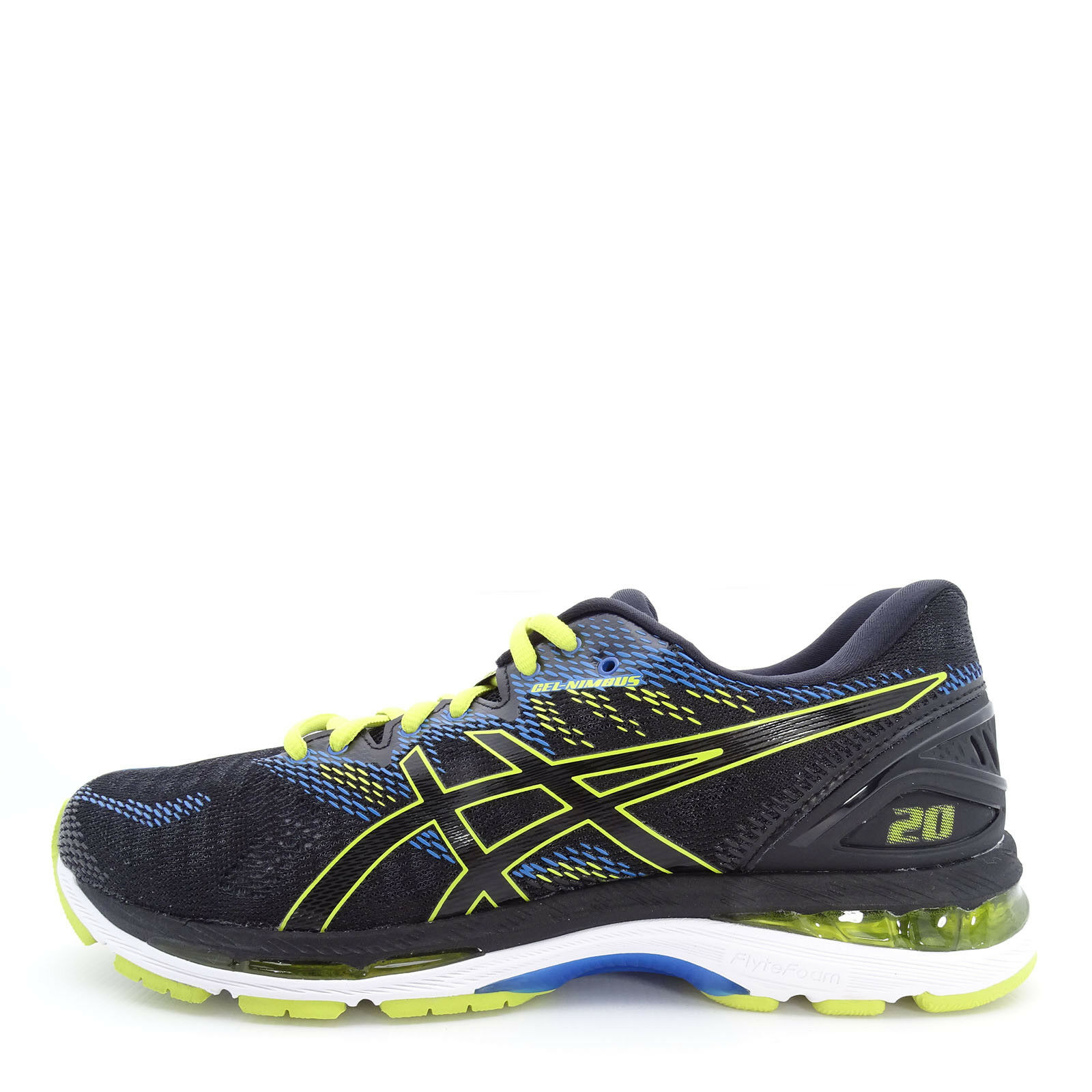 Asics GEL-Nimbus 20 [T800N-9089] Men Running shoes Black Sulphur Spring