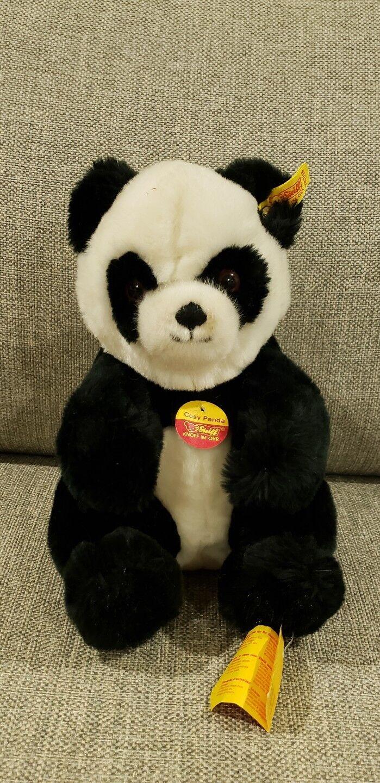 Vintage Steiff Cosy Panda Plush Ear Tag 5357/25