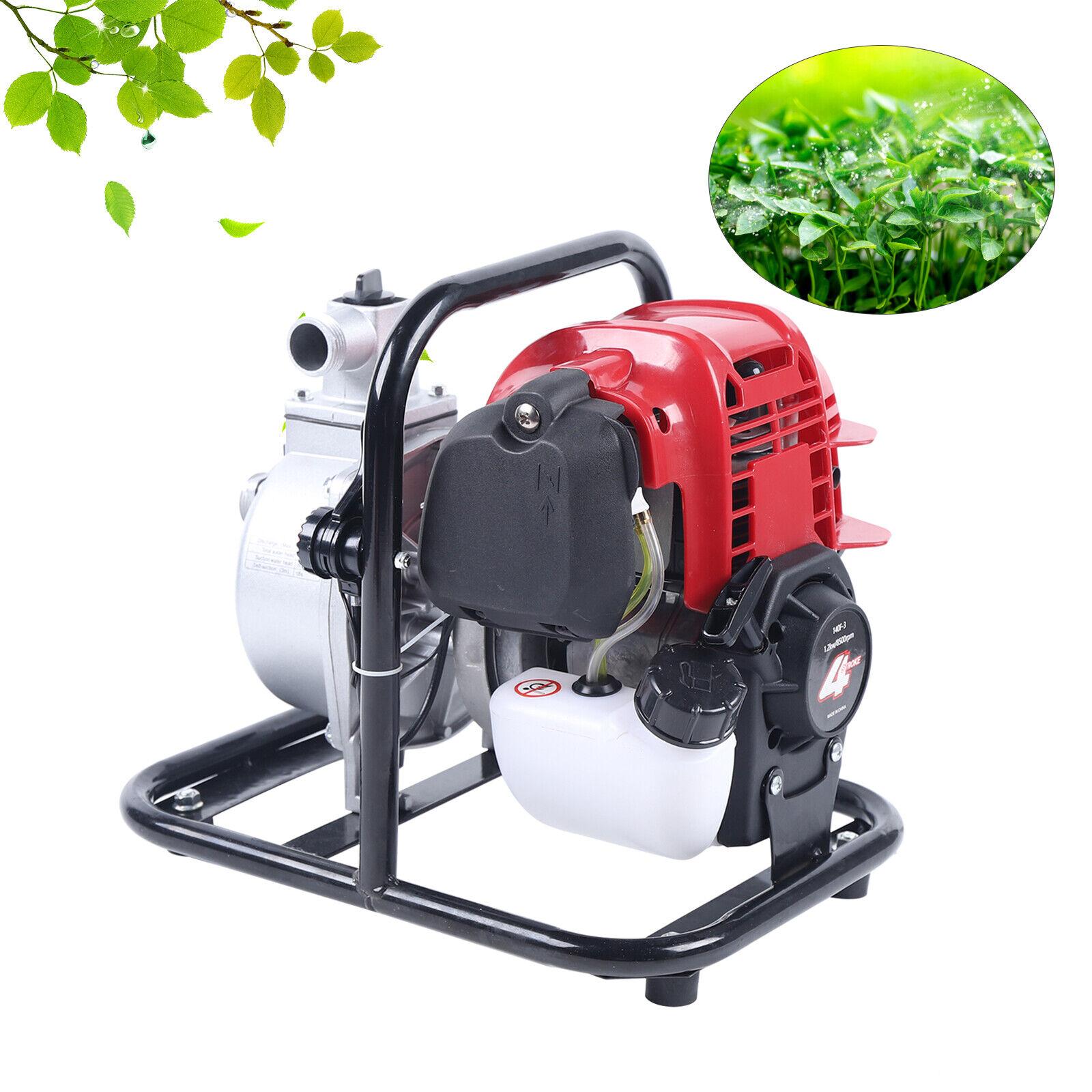 Gasoline Water Pump38CC Air-cooled 4 Stroke 1