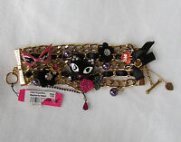 Betsey Johnson Bracelet Statement Vampire Slayer