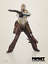 ThreeA-3-A-Portable-Blind-Cowboy-amp-Ghost-Cheval-Set-1-12th-Scale-Action-Figure miniature 4