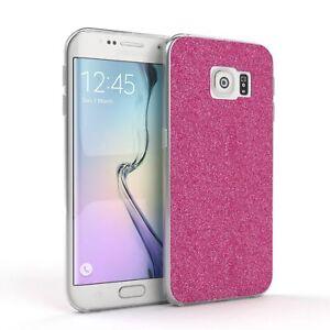 Schutz-Huelle-fuer-Samsung-Galaxy-S6-Edge-Glitzer-Cover-Handy-Case-Pink