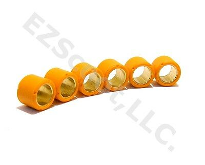 PERFORMANCE VARIATOR RACE ROLLER WEIGHTS 16x13mm 5.5g GY6 4 STROKE SCOOTER BMS