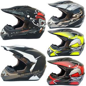 Motorcycle Helmet Mountain Bike Full Face Helmet Off Road Helmet For