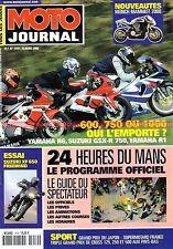 MOTO JOURNAL 1419 MUNCH Mammut YAMAHA R1 R6 R7 KAWASAKI 24 Heures du MANS 2000