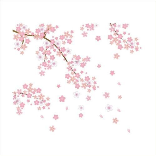 Blossom Tree Branch Wall Sticker Home Decor Vinyl Art Decal Cherry Flower GO9