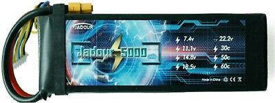 JADOUR LIPO BATTERY 5S 18.5V 5000MAH XT90 PLUG 50C RC HELICOPTER CAR USA SELLER