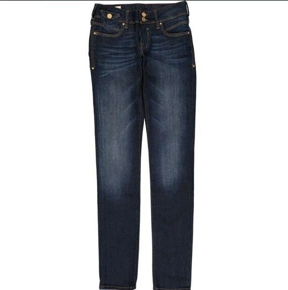 MAVI Lindy Dark bluee Low-Rise Skinny Jeans W26 L34
