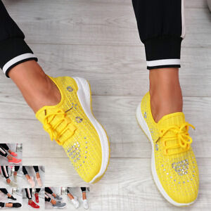 studded trainers womens