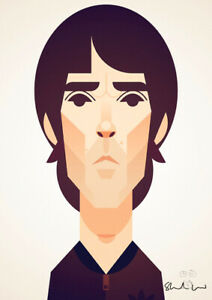 Ian Brown by Stanley Chow - Signed and stamped archival Giclee print